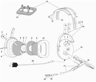 david clark headset parts  diagram  auto wiring diagram